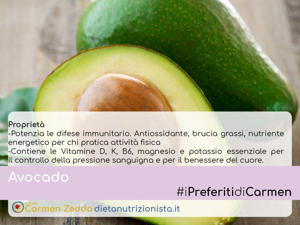 avocado-proprietà