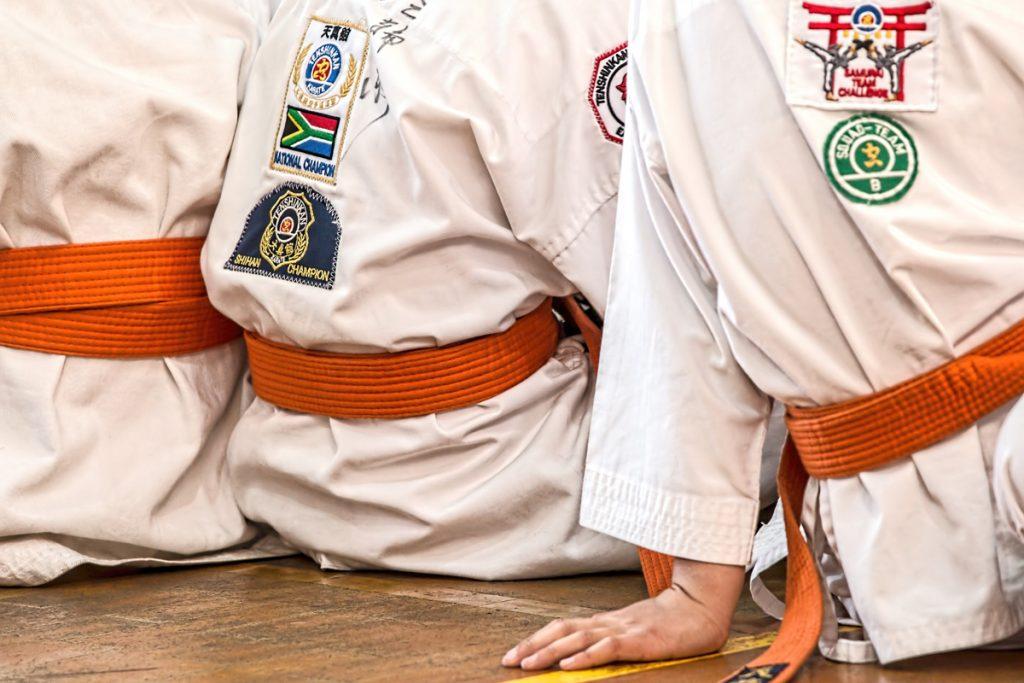 Dieta equilibrata gara Karate