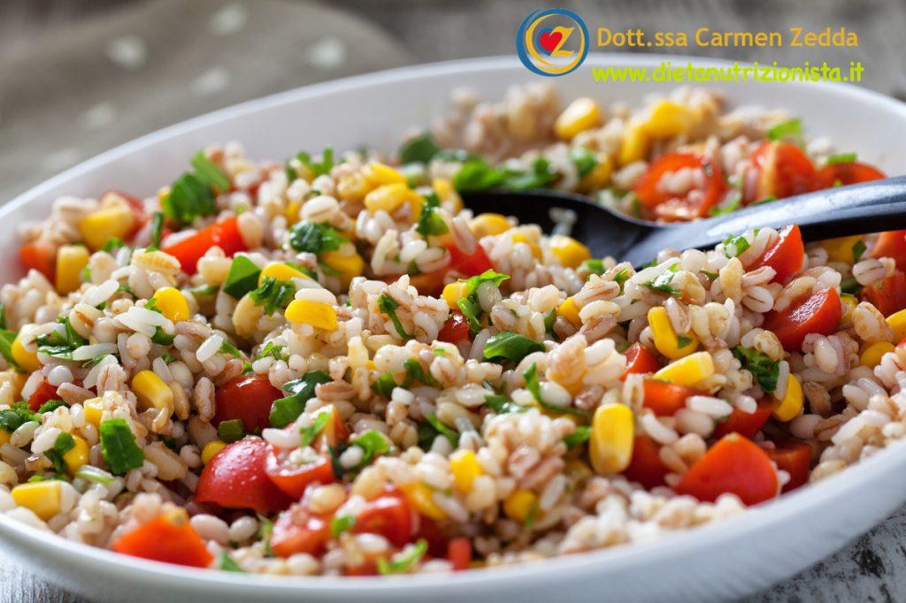 Farro-con-verdure-pranzo-in-spiaggia