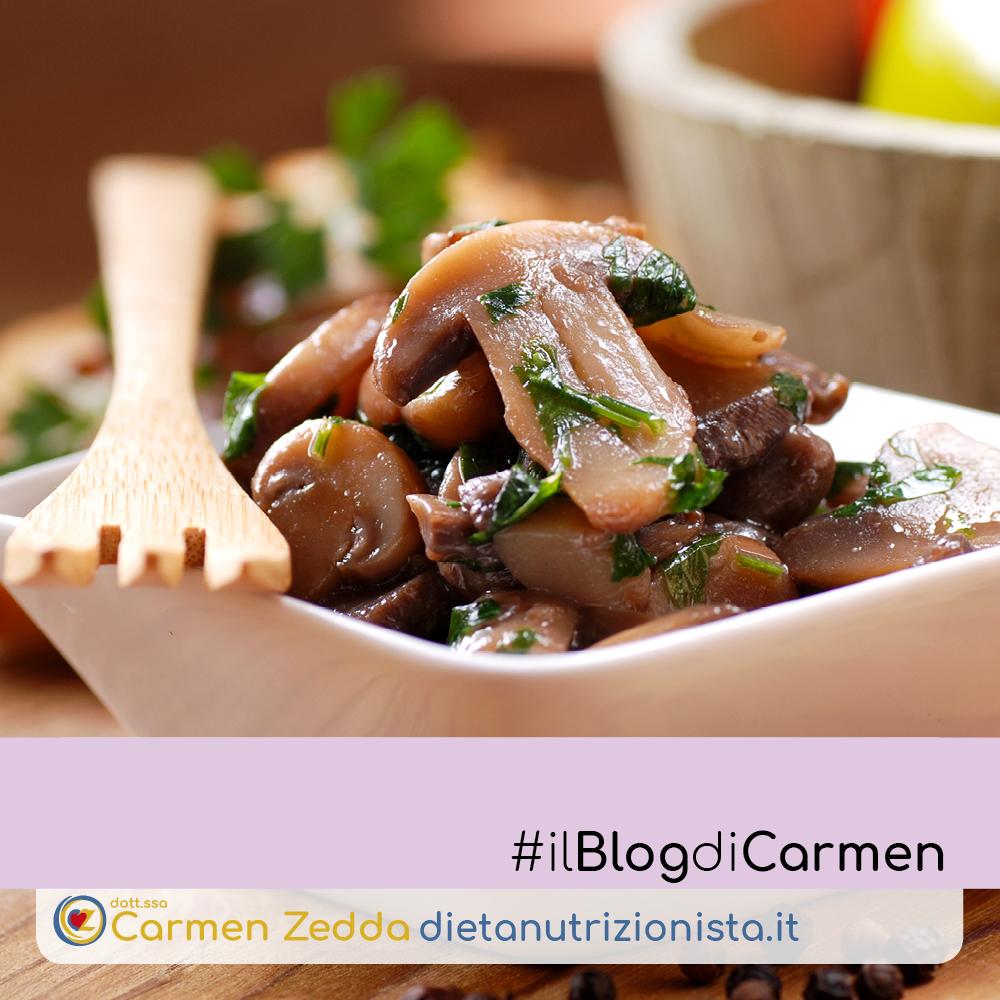 Funghi-trifolati-ricette-nutrizionista-Bologna