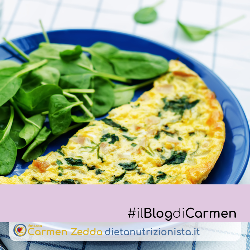 fritatta-di-spinaci-ricette-nutrizionista-Bologna